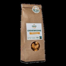 4x 70g faire Bio-Cashews von der Elfenbeinküste: Karamellisiert