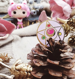 Sailor Girl Enamel Pin