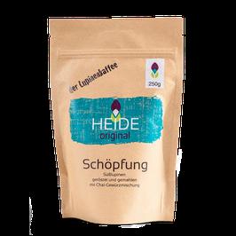 """HEIDE original """"Schöpfung"""" - der Lupinenkaffee mit """"Chaiküsschen"""", 250g geröstet und gemahlen"""