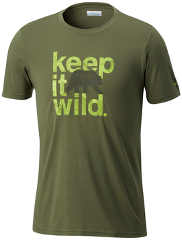 Herren T- Shirt - live wild & keep it wild