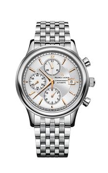 モーリス・ラクロア レ・クラシック クロノグラフ  メンズ腕時計 MAURICE LACROIX LC6158-SS002-130