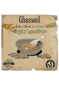 GHASSOUL (Argilla Saponifera)