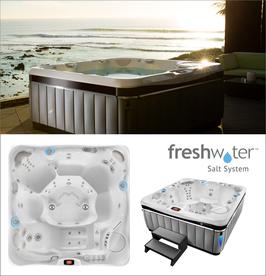 Gratis FreshWater Sonderaktion  - Für 6-er Whirlpool Geneva aus der Utopia Serie