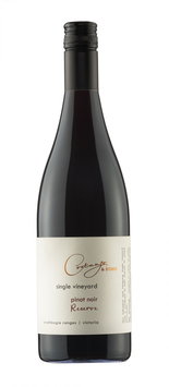 2016 Single Vineyard Reserve Pinot Noir