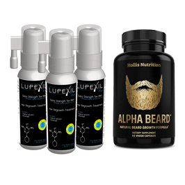 Kit Minoxidil 7% +  Alpha Beard - formula para barba
