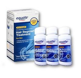 Minoxidil Equate 3 meses de uso.