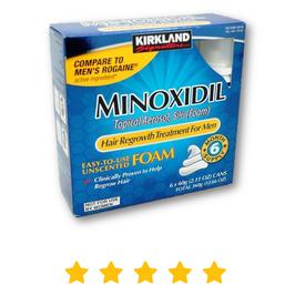 Pack de 6 frascos - Minoxidil Espuma Kirkland