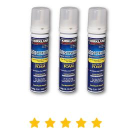 Minoxidil en espuma (Foam)  - Kirkland - 3 meses