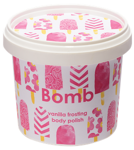 Beurre de douche exfoliant vanille 320g - Bomb Cosmetics