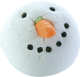 "Boule de bain ""Chilly Willy"" 160g - Bomb Cosmetics"