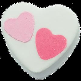 "Boule de bain ""Heart 2 Heart"" 160g - Bomb Cosmetics"