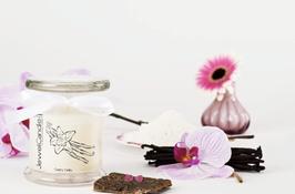"Bougie parfumée ""Creamy Vanilla"" (boucles d'oreilles) - JewelCandle"