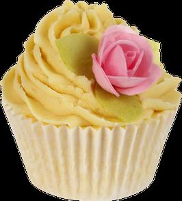 "Cupcake de bain ""Orange Blossom & Jasmine"" 180g - Bomb Cosmetics"