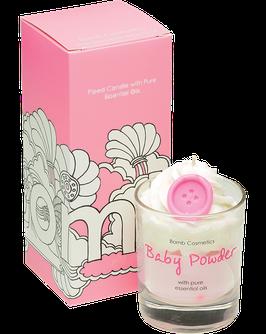 "Bougie crème fouettée ""Baby Powder"" - Bomb Cosmetics"