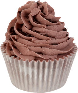 "Cupcake de bain ""Choc Around The Clock"" 180g - Bomb Cosmetics"