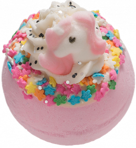 "Boule de bain ""I Believe In Unicorns"" 160g - Bomb Cosmetics"