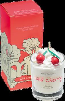 "Bougie crème chantilly ""Wild Cherry"" - Bomb Cosmetics"