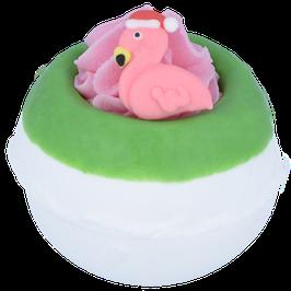 """Boule de bain """"Flamingo Ho Ho"""" 160g - Bomb Cosmetics"""