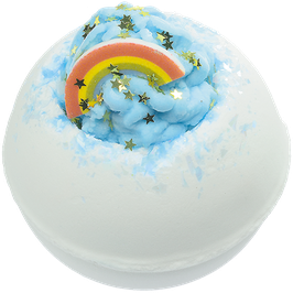 "Boule de bain ""Over The Rainbow"" 160g - Bomb Cosmetics"