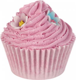 "Cupcake de bain ""Pinky & Perky"" 180g - Bomb Cosmetics"