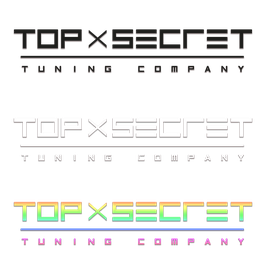 Top Secret Logo Aufkleber