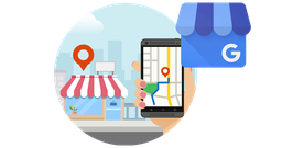 ᐅ Google My Business™ oder  Bing Places™ Optimierung