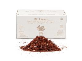 TerreUnity | Bio Humus Gemüse Blumenerde mit Langzeitdünger | mit Bodenaktivatoren und natürlichem Netzmittel | aufgedüngte Blumenerde | vegan | plastikfrei | torffrei | 10 Liter