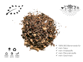 TerreUnity | Bio Samen | Bio Saatgut Bienenwiese | Bienenweide | Hummelwiese | bio | vegan | plastikfrei | für ca. 5m2 | für den eigenen Anbau im Garten, Hochbeet oder Balkon