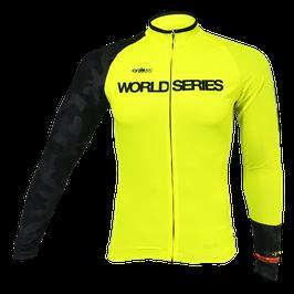Maillot ciclista entretiempo tope de gama WORLD SERIES mod. DIAMOND