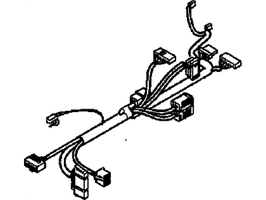 Hummer H2 Kabelbaum Lenksäulenverdrahtung