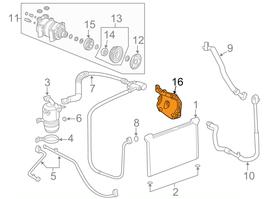 Hummer H2 A/C Kompressor Halterung