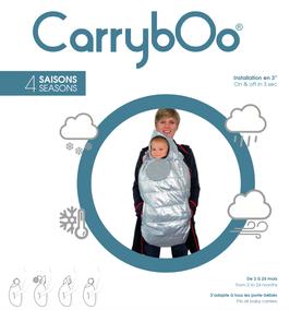 CarrybOo, doudoune et coupe-vent pour porte-bébé