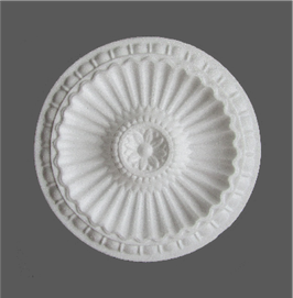 F 07 Rosace en polystyrène, d: 27 cm