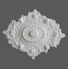 F 04 Rosace en polystyrène, d: 57 x 70 cm