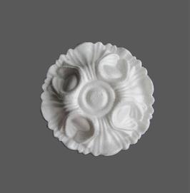 F 05 Rosace en polystyrène, d: 18 cm