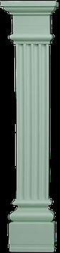 PL 50 pilaster complete