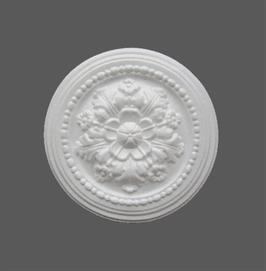 F 06 Rosace en polystyrène, d: 27 cm