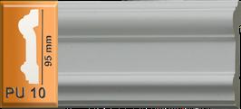 PU 10 cadre, largeur 95 mm, longeur 2 ml
