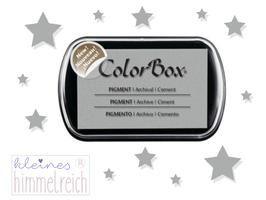 Colorbox Pigment Stempelkissen  cement