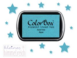 Colorbox Pigment Stempelkissen  aqua