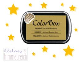 Colorbox Pigment Stempelkissen  buttercup