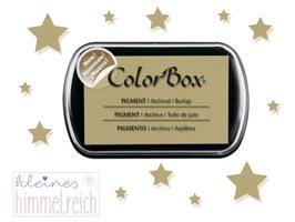 Colorbox Pigment Stempelkissen burlap