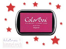 Colorbox Pigment Stempelkissen  magenta