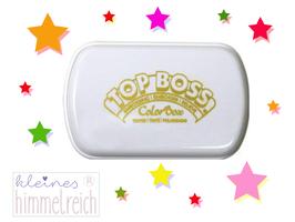 Colorbox TOP BOSS Embossing Kissen leicht getönt