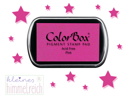 Colorbox Pigment Stempelkissen pink