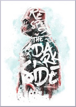 """ Respect the Dark Side "" By Barrett Biggers"
