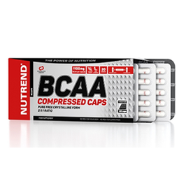 Nutrend BCAA Compressed 120 Caps