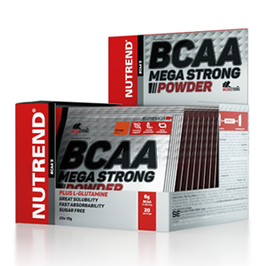 Nutrend BCAA Mega Strong 20x10g Beutel Box