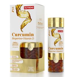 NUTREND CURCUMIN + BIOPERINE + VITAMIN D 60 Caps