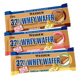Weider 32% Whey-Wafer 35g